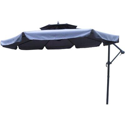10 Cantilever Umbrella Fabric: Blue