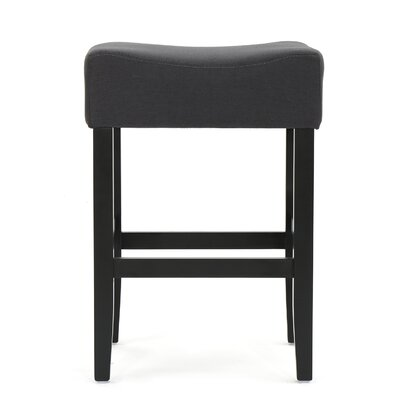Chamness Backless Fabric Counter 26 Bar Stool