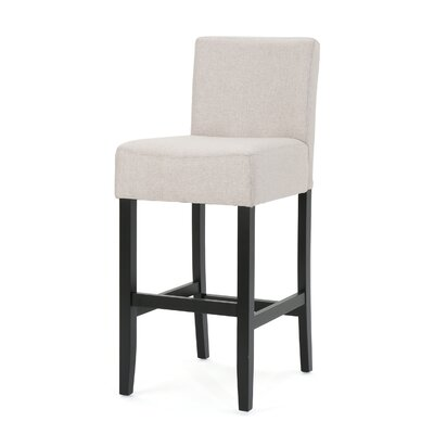 Chamness 30 Bar Stool Upholstery: Wheat