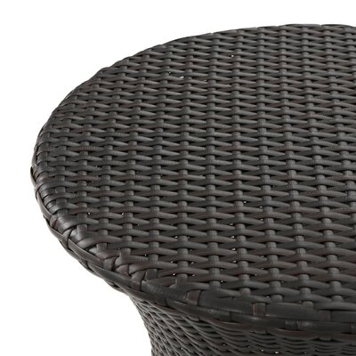Zolan Outdoor Wicker 3 Piece Lounge Seating Group