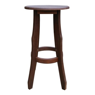 Rockridge Outdoor Acacia Wood Bar Stool