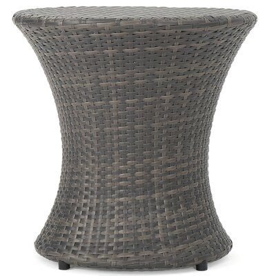 Preston Outdoor Wicker 3 Piece Lounge Seating Group
