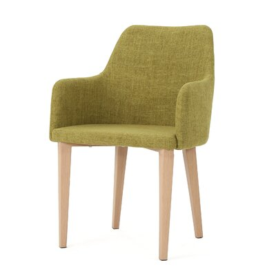 Image of Pomfret Dining Chair Color: Green