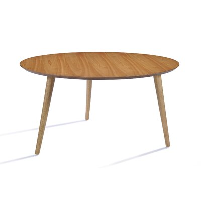 Peacham Wood Coffee Table Finish: Oak