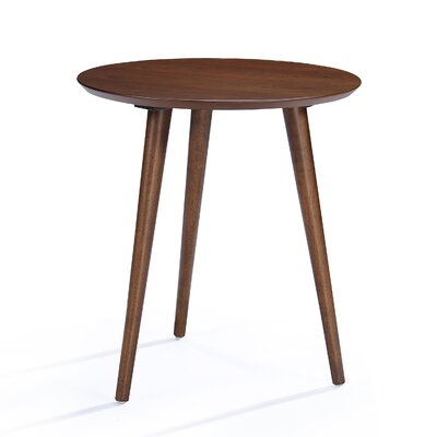 Pawlet Wood End Table Finish: Walnut