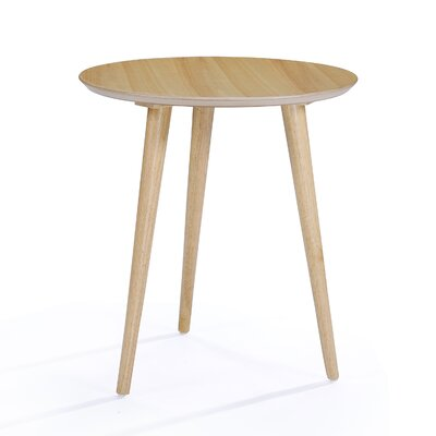 Pawlet Wood End Table Finish: Oak