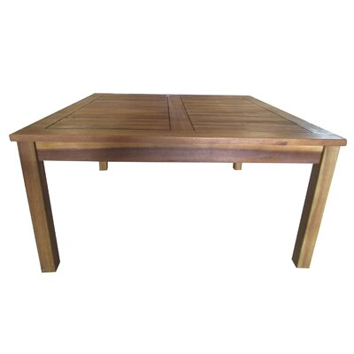Waurika Outdoor Wood Coffee Table
