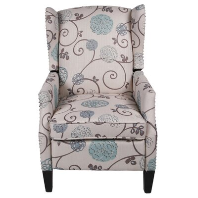 Lavalley Patterned Fabric Recliner