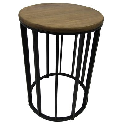Cabo Wood Accent Side Table