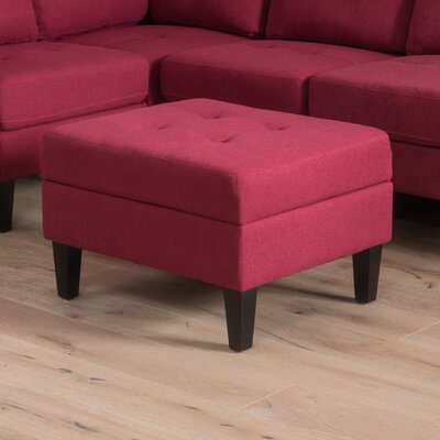 Lindley Fabric Storage Ottoman