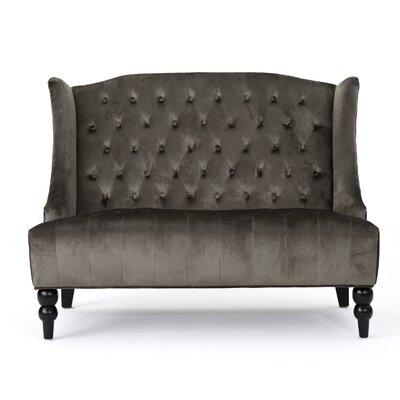 Carolina Standard Loveseat Upholstery : Gray