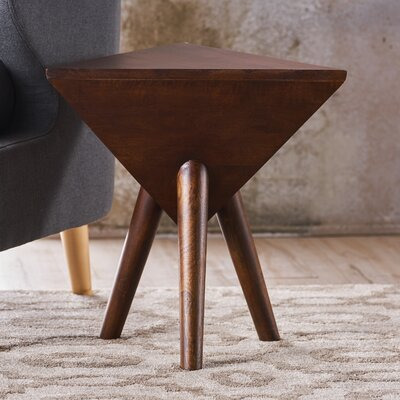 Johnston Wood End Table