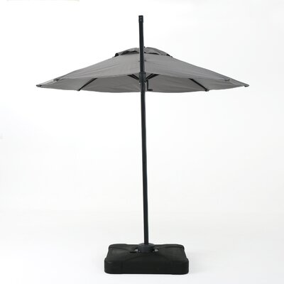 10 Wapping Canopy Cantilever Umbrella Color: Gray