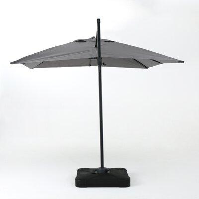 10 Square Cantilever Umbrella Color: Gray