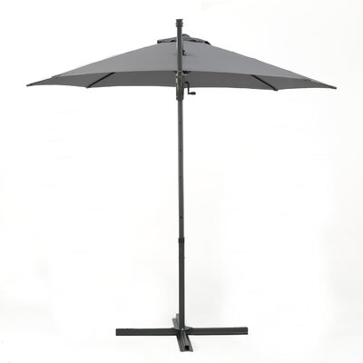 Jaelynn 11.5 Square Cantilever Umbrella Color: Gray