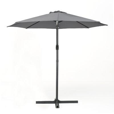 Jaelyn 11.4 Square Cantilever Umbrella Color: Gray