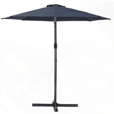 Jaelyn 11.4 Square Cantilever Umbrella Color: Blue