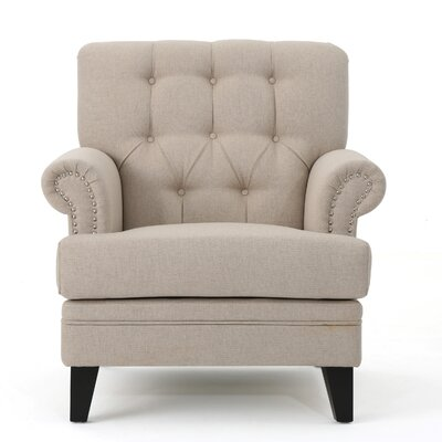 Elliott Bay Armchair Upholstery: Wheat