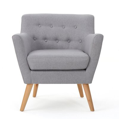 Brownville Armchair Upholstery: Light Gray