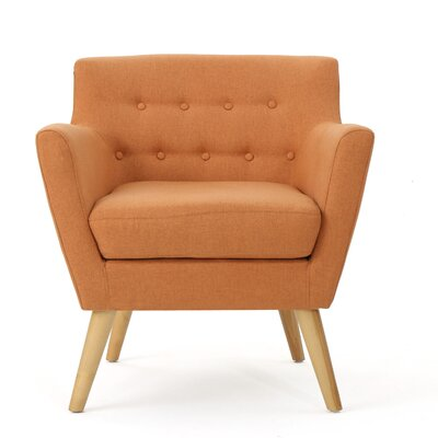 Brownville Armchair Upholstery: Orange