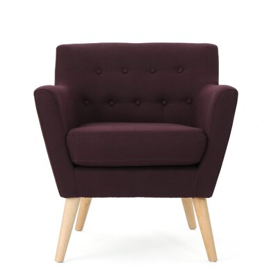 Brownville Armchair Upholstery: Plum