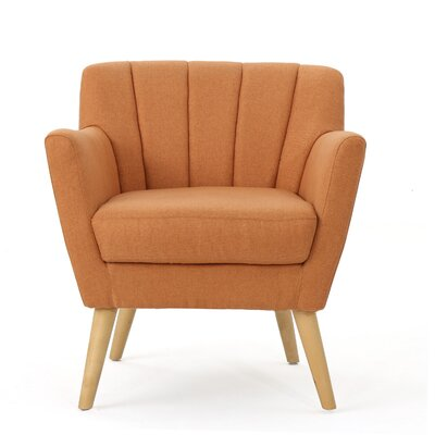 Bovina Armchair Upholstery: Orange
