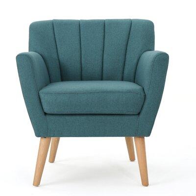 Bovina Armchair Upholstery: Dark Teal