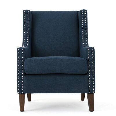 Westhoughton Armchair Upholstery: Navy Blue