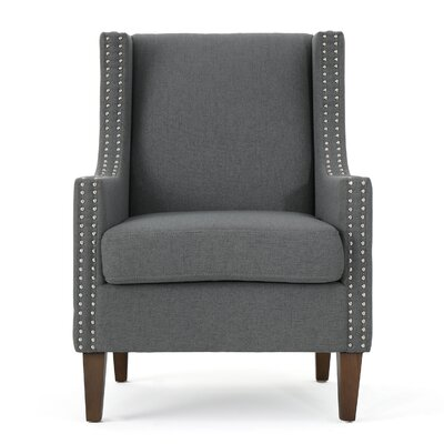 Westhoughton Armchair Upholstery: Charcoal
