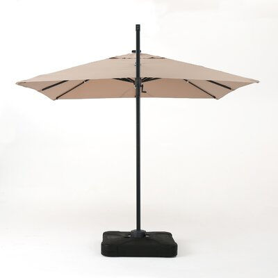 Jendayi 9.7 Square Cantilever Umbrella Color: Sand