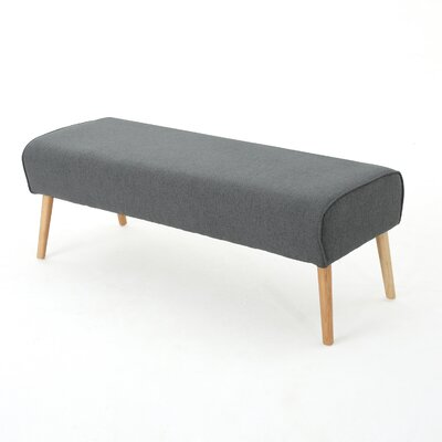 Brookhaven Ottoman Upholstery: Charcoal