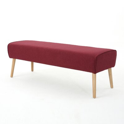 Brookhaven Ottoman Upholstery: Deep Red