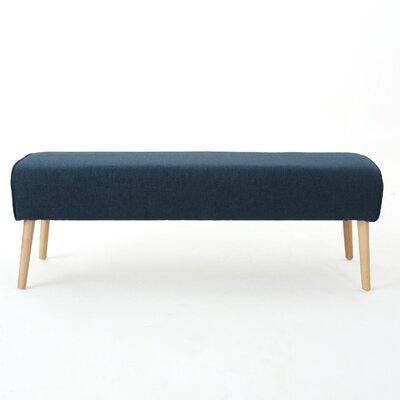 Brookhaven Ottoman Upholstery: Navy Blue