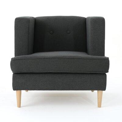 Disney Armchair Upholstery: Dark Gray