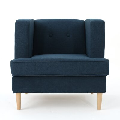 Disney Armchair Upholstery: Navy Blue