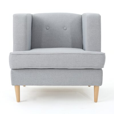Disney Modern Armchair Upholstery: Light Gray