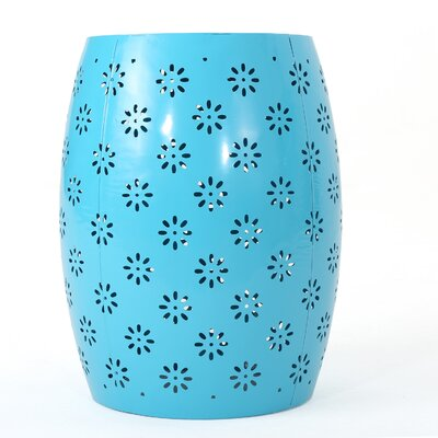Pastrana Accent End Table Color: Blue