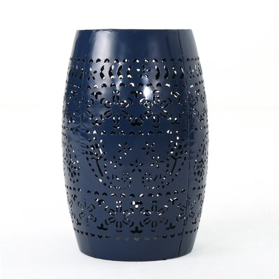 Ifrane Accent End Table Color: Dark Blue