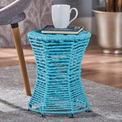 Radu End Table Color: Blue