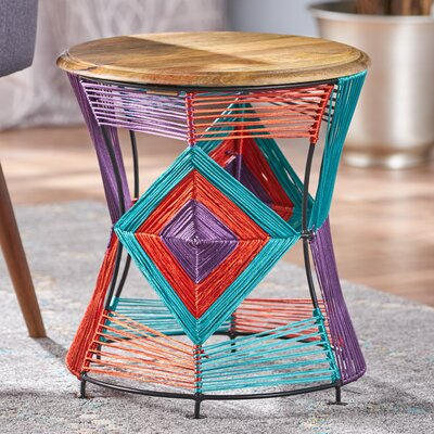 Meknes Yarn End Table