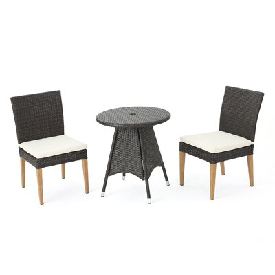 Saurabh Outdoor 5 Piece Dining Set with Cushions