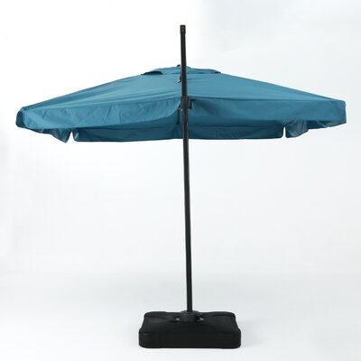 Callister 10' Square Cantilever Umbrella Color: Teal