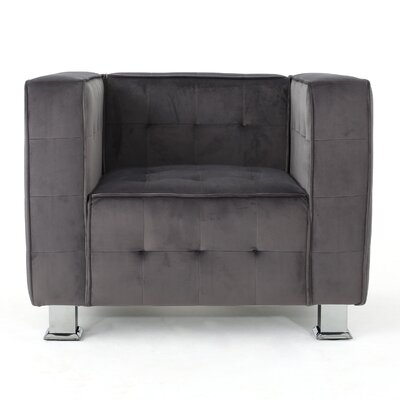 Beachdale Armchair Upholstery: Gray