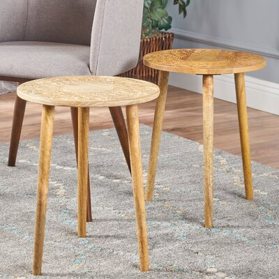 Taourirt 2 Piece End Table Set
