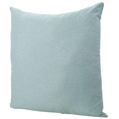 Duhart Fabric Throw Pillow Color: Light Blue