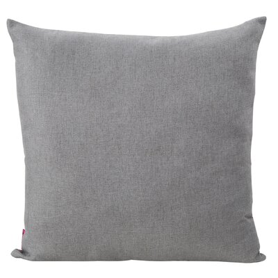 Duhart Fabric Throw Pillow Color: Light Gray