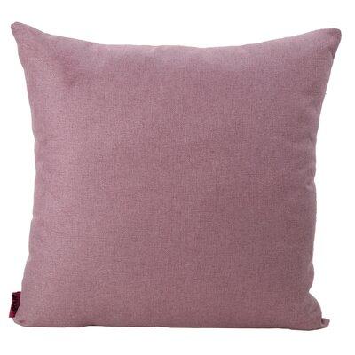 Duhart Fabric Throw Pillow Color: Light Lavender