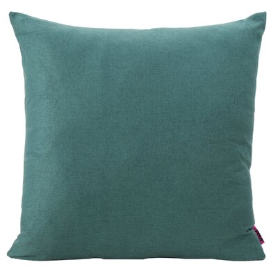 Duhart Fabric Throw Pillow Color: Dark Teal