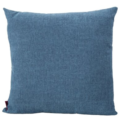 Duhart Fabric Throw Pillow Color: Muted Blue