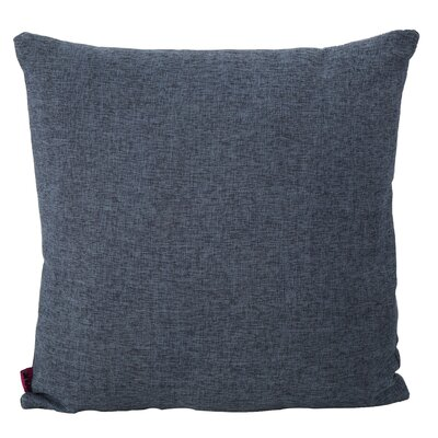 Duhart Fabric Throw Pillow Color: Dark Blue
